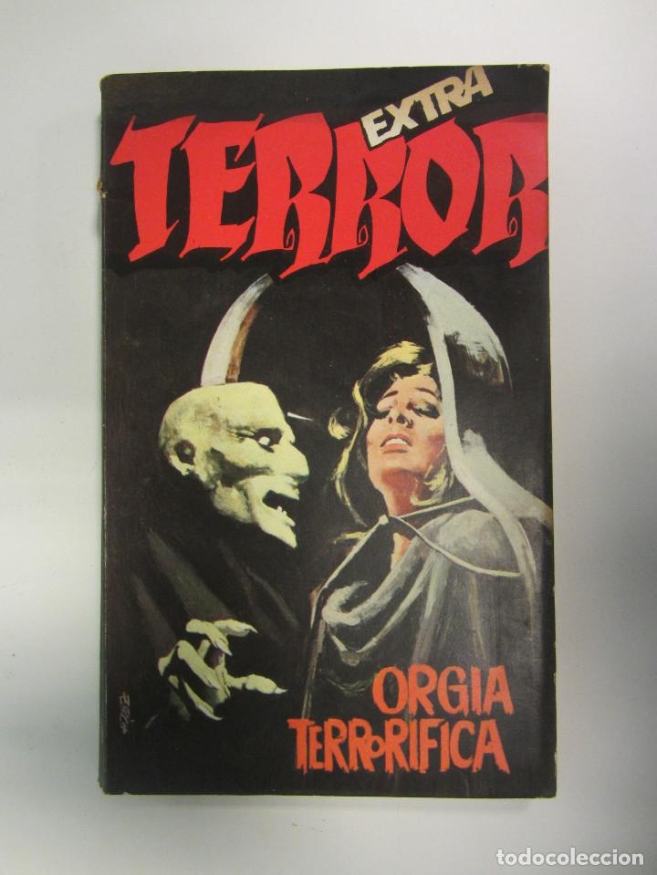 Libros antiguos: LOTE DE 21 EJEMPLARES TERROR (GEMINI) + LOTE DE 6 EXTRA TERROR (ROMEU). ILUSTRADOS. - Foto 7 - 174971044