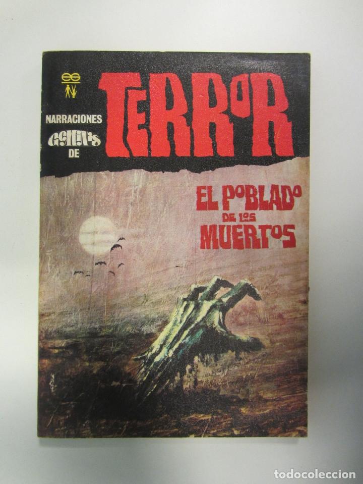 Libros antiguos: LOTE DE 21 EJEMPLARES TERROR (GEMINI) + LOTE DE 6 EXTRA TERROR (ROMEU). ILUSTRADOS. - Foto 8 - 174971044