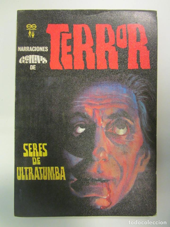 Libros antiguos: LOTE DE 21 EJEMPLARES TERROR (GEMINI) + LOTE DE 6 EXTRA TERROR (ROMEU). ILUSTRADOS. - Foto 13 - 174971044