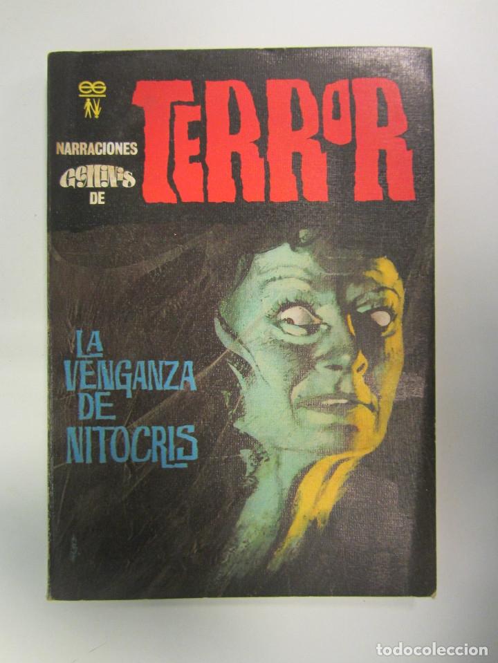 Libros antiguos: LOTE DE 21 EJEMPLARES TERROR (GEMINI) + LOTE DE 6 EXTRA TERROR (ROMEU). ILUSTRADOS. - Foto 16 - 174971044