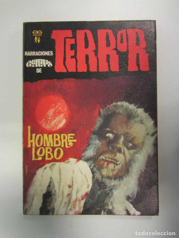Libros antiguos: LOTE DE 21 EJEMPLARES TERROR (GEMINI) + LOTE DE 6 EXTRA TERROR (ROMEU). ILUSTRADOS. - Foto 19 - 174971044