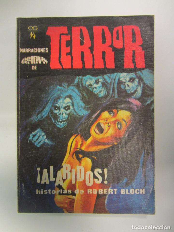 Libros antiguos: LOTE DE 21 EJEMPLARES TERROR (GEMINI) + LOTE DE 6 EXTRA TERROR (ROMEU). ILUSTRADOS. - Foto 26 - 174971044