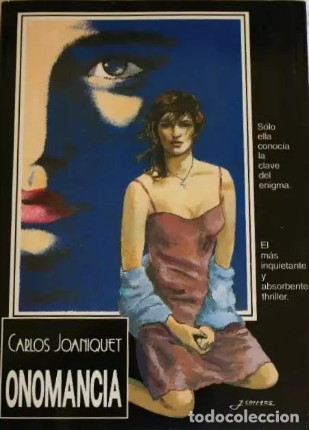 ONOMANCIA DE CARLOS JOANIQUET (Libros antiguos (hasta 1936), raros y curiosos - Literatura - Terror, Misterio y Policíaco)