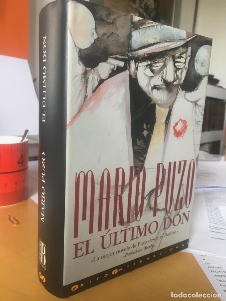 EL ULTIMO DON-MARIO PUZO Nº DE PÁGINAS: 544 PÁGS. ENCUADERNACIÓN: TAPA DURA EDITORIAL: S.A. EDICION (Libros antiguos (hasta 1936), raros y curiosos - Literatura - Terror, Misterio y Policíaco)