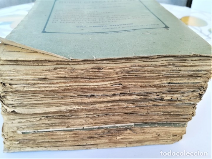 Libros antiguos: SHERLOCK HOLMES,4 NOVELAS AÑO 1909,MAS DE 110 AÑOS,DE ARTHUR CONAN DOYLE,EL PERRO DE BASKERVILLE,MAS - Foto 13 - 177404487