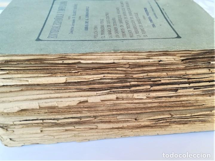 Libros antiguos: SHERLOCK HOLMES,4 NOVELAS AÑO 1909,MAS DE 110 AÑOS,DE ARTHUR CONAN DOYLE,EL PERRO DE BASKERVILLE,MAS - Foto 14 - 177404487