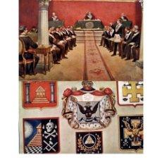 Libros antiguos: LAS SECTAS Y LAS SOCIEDADES SECRETAS. ILUSTRACIONES EN COLOR. 27 CM. Y 1171 PÁGINAS. Lote 179039708
