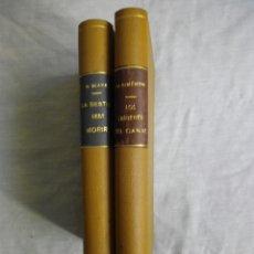 Libros antiguos: G. SIMEON: LOS CRÍMENES DEL CANAL 1948, N. BLAKE: LA BESTIA DEBE MORIR 1945 NOVELAS NEGRAS. Lote 179078693