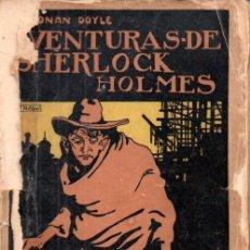 Libros antiguos: CONAN DOYLE : AVENTURAS DE SHERLOCK HOLMES - EL TRIUNFO (PROMETEO, S.F.). Lote 180483143