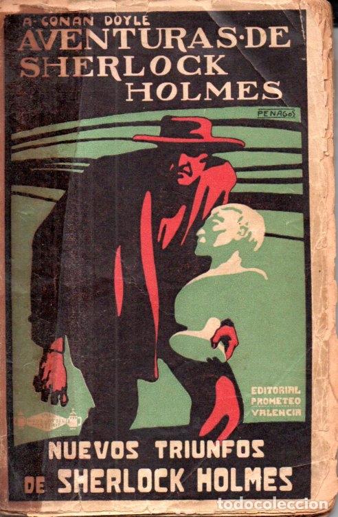 CONAN DOYLE : AVENTURAS DE SHERLOCK HOLMES - NUEVOS TRIUNFOS (PROMETEO, S.F.) (Libros antiguos (hasta 1936), raros y curiosos - Literatura - Terror, Misterio y Policíaco)