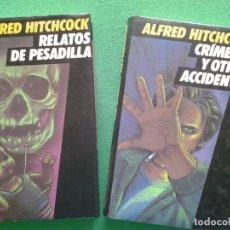 Livres anciens: COLECCIÓN 12 LIBROS HISTORIAS DE ALFREDO HITCHCOCK. Lote 180938387