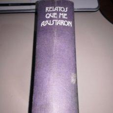 Libros antiguos: RELATOS QUE ME ASUSTARON - ALFRED HITCHCOCK EDIT. AGUILAR REF. GAR 85. Lote 181082055