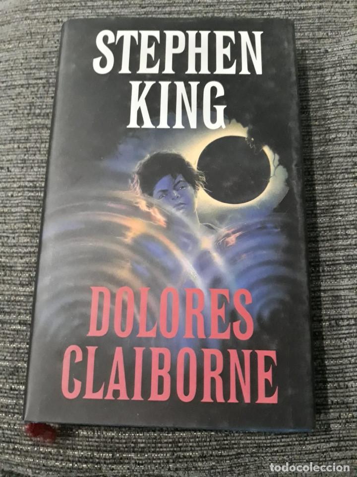 STEPHEN KING. DOLORES CLAIBORNE. CIRCULO DE LECTORES (Libros antiguos (hasta 1936), raros y curiosos - Literatura - Terror, Misterio y Policíaco)