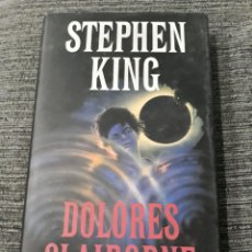Libros antiguos: STEPHEN KING. DOLORES CLAIBORNE. CIRCULO DE LECTORES. Lote 181866285