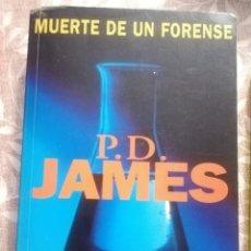 Libros antiguos: MUERTE DE UN FORENSO P.D JAMES. Lote 182578885