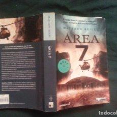 Libros antiguos: AREA 7 - MATTHEW REILLY. Lote 182707091