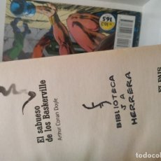 Libros antiguos: EL SABUESO DE LOS BASKERVILLE. CONAN DOYLE. SHERLOCK HOLMES. Lote 182860210