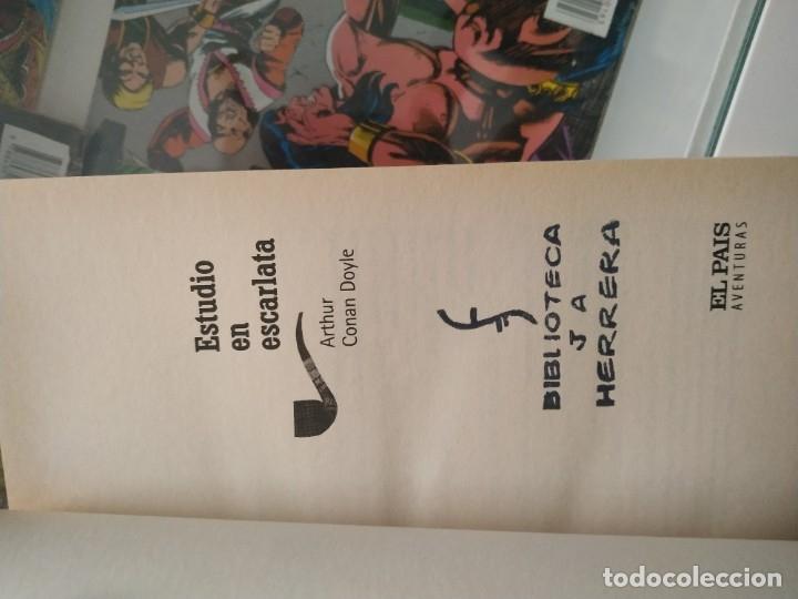 ESTUDIO EN ESCARLATA. CONAN DOYLE. SHERLOCK HOLMES (Libros antiguos (hasta 1936), raros y curiosos - Literatura - Terror, Misterio y Policíaco)