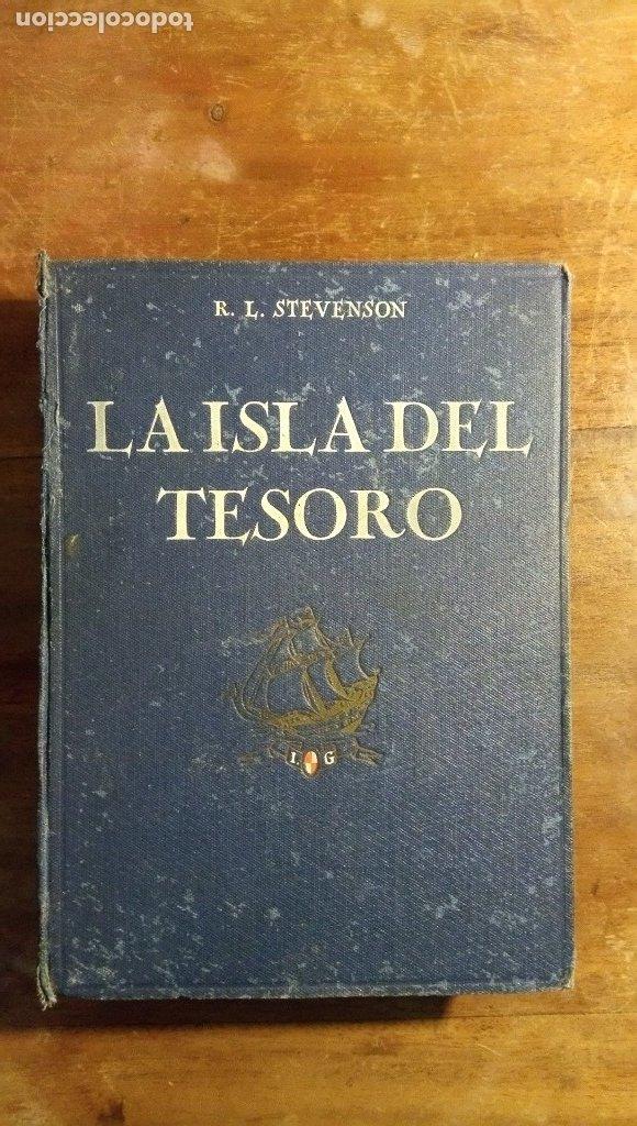 LA ISLA DEL TESORO STEVENSON 1924 (Libros antiguos (hasta 1936), raros y curiosos - Literatura - Terror, Misterio y Policíaco)