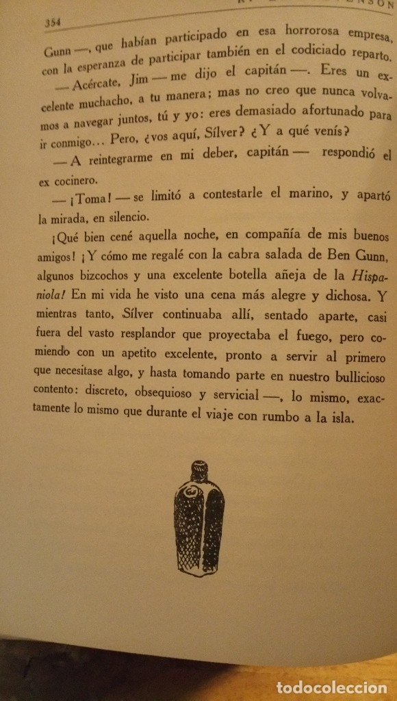 Libros antiguos: La isla del tesoro Stevenson 1924 - Foto 6 - 182886053