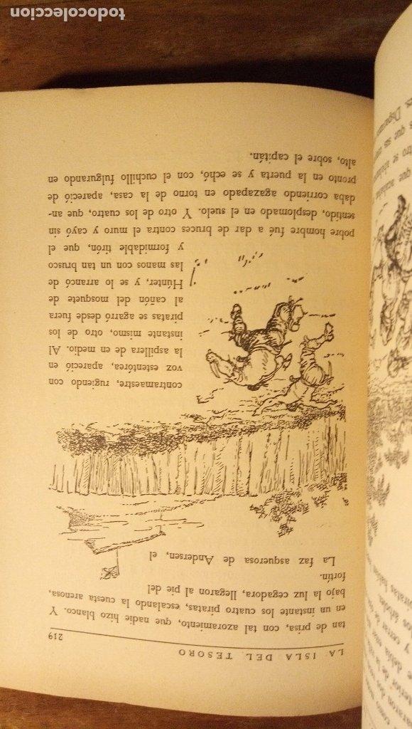Libros antiguos: La isla del tesoro Stevenson 1924 - Foto 8 - 182886053