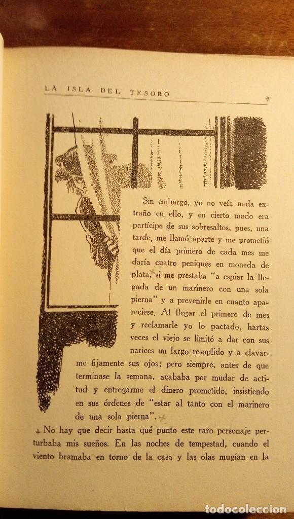 Libros antiguos: La isla del tesoro Stevenson 1924 - Foto 10 - 182886053