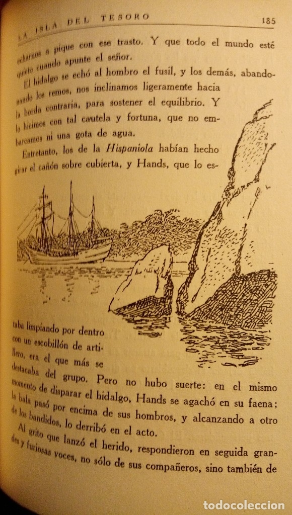 Libros antiguos: La isla del tesoro Stevenson 1924 - Foto 11 - 182886053
