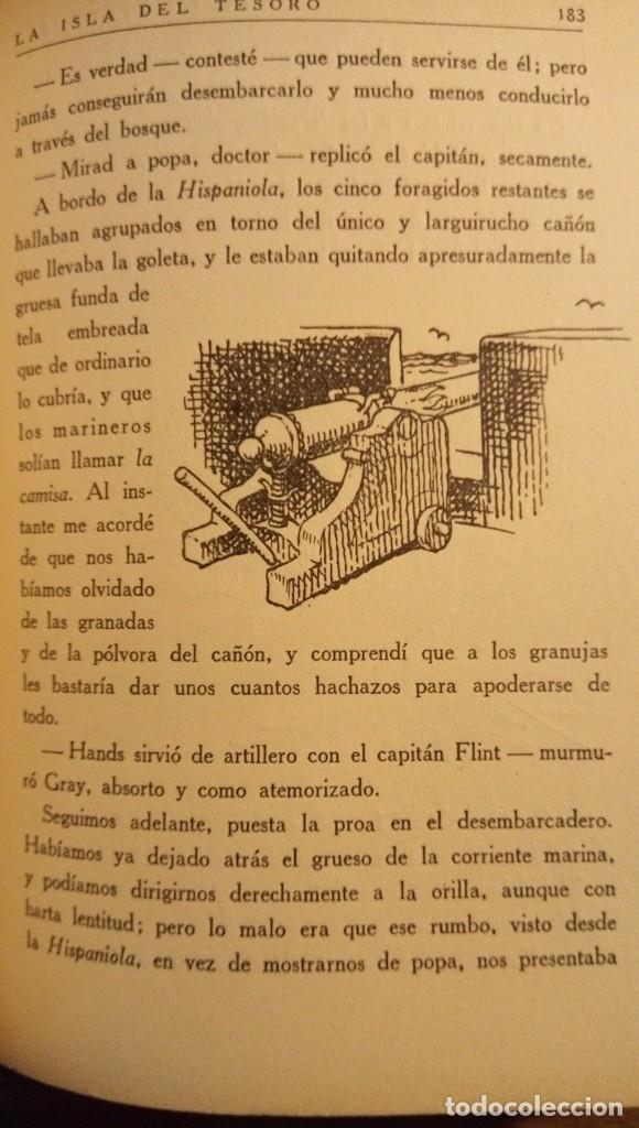 Libros antiguos: La isla del tesoro Stevenson 1924 - Foto 13 - 182886053