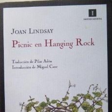 Libros antiguos: PICNIC EN HANGING ROCK DE JOAN LINDSAY. Lote 183490912