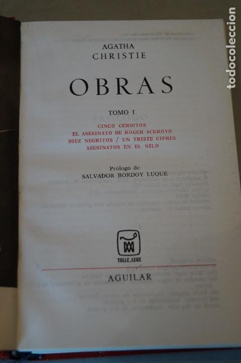 Libros antiguos: OBRAS. AGATHA CHRISTIE. 13 TOMOS - Foto 3 - 184509686