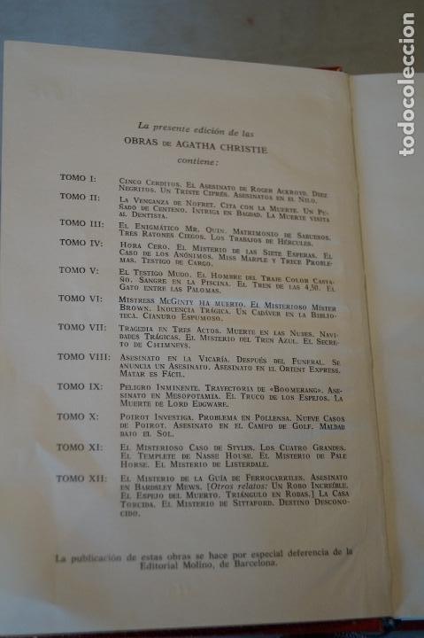Libros antiguos: OBRAS. AGATHA CHRISTIE. 13 TOMOS - Foto 4 - 184509686