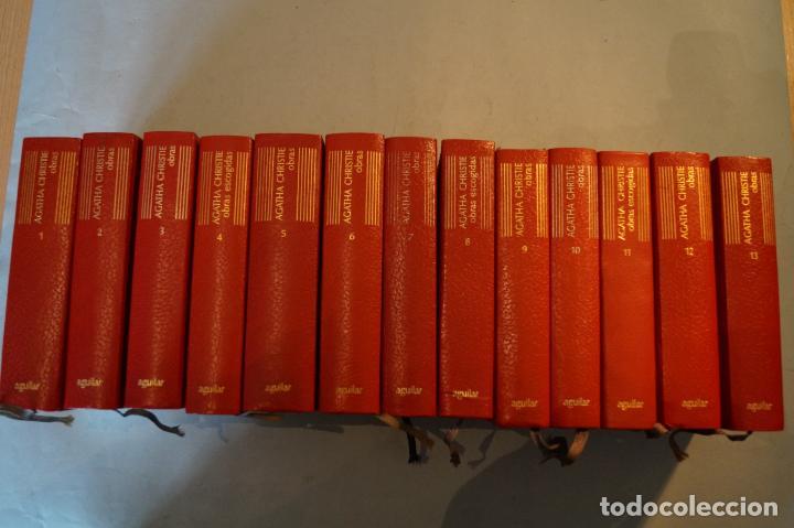 OBRAS. AGATHA CHRISTIE. 13 TOMOS (Libros antiguos (hasta 1936), raros y curiosos - Literatura - Terror, Misterio y Policíaco)