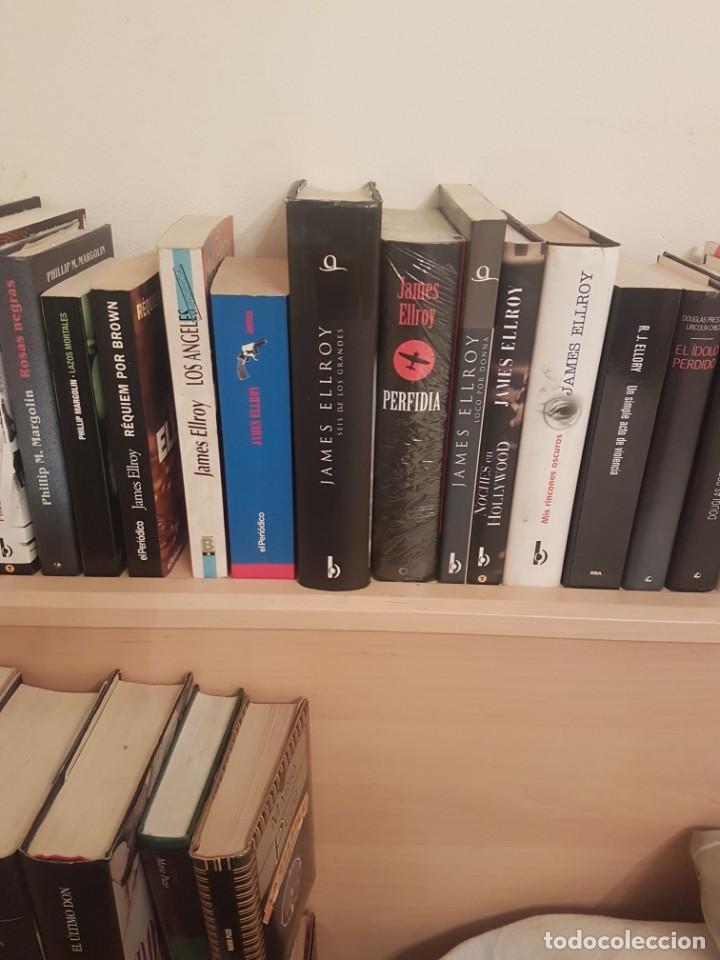 NOVELAS . LOTE JAMES ELLROY (Libros antiguos (hasta 1936), raros y curiosos - Literatura - Terror, Misterio y Policíaco)