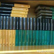 Libros antiguos: LOTE 33 LIBROS NUEVOS COLECCIÓN AGATHA CHRISTIE. Lote 186660425