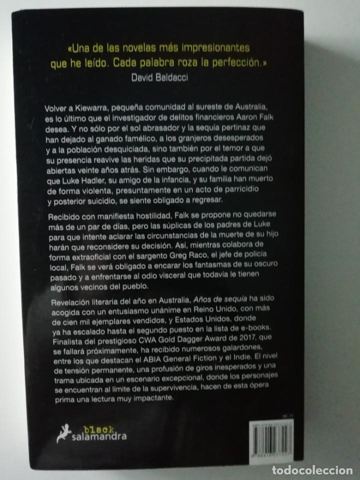 Libros antiguos: AÑOS DE SEQUÍA - JANE HARPER - ED SALAMANDRA 2017 - Foto 2 - 187387056
