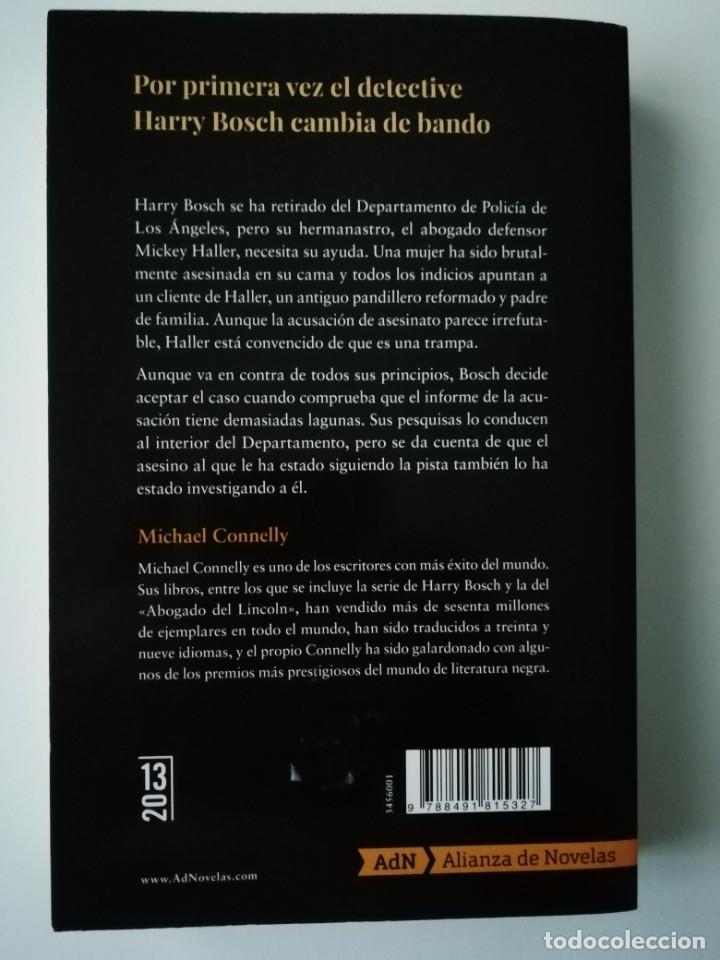 Libros antiguos: DEL OTRO LADO - MICHAEL CONNELLY - ED. ALIANZA / AdN 2019 - Foto 2 - 187387693