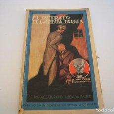 Libros antiguos: EL RETRATO DE LUCRECIA BORGIA CALLEJA EL MISTERIO. Lote 189470305