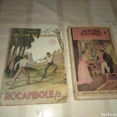 Libros antiguos: PAREJA LIBROS ROCAMBOLE - UN CLUB DE ASESINOS - LA CONDESA DE ARTOFF - PONSON DU TERRAIL - LEER -. Lote 182433657