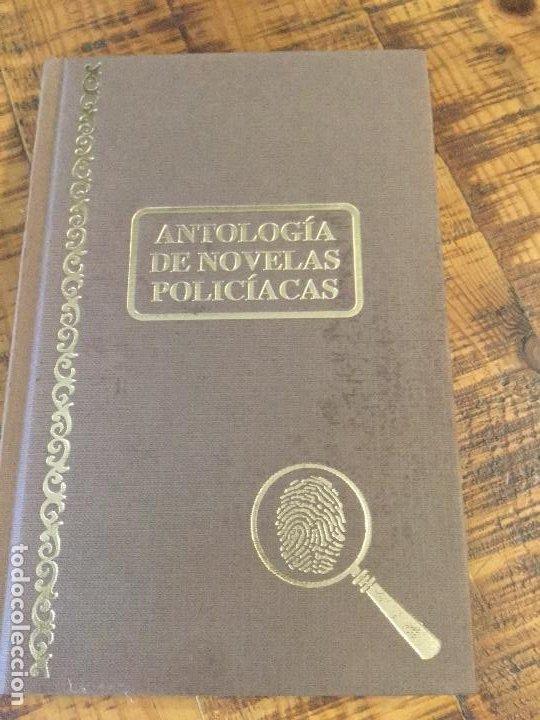 ANTOLOGÍA DE NOVELAS POLICÍACAS (Libros antiguos (hasta 1936), raros y curiosos - Literatura - Terror, Misterio y Policíaco)