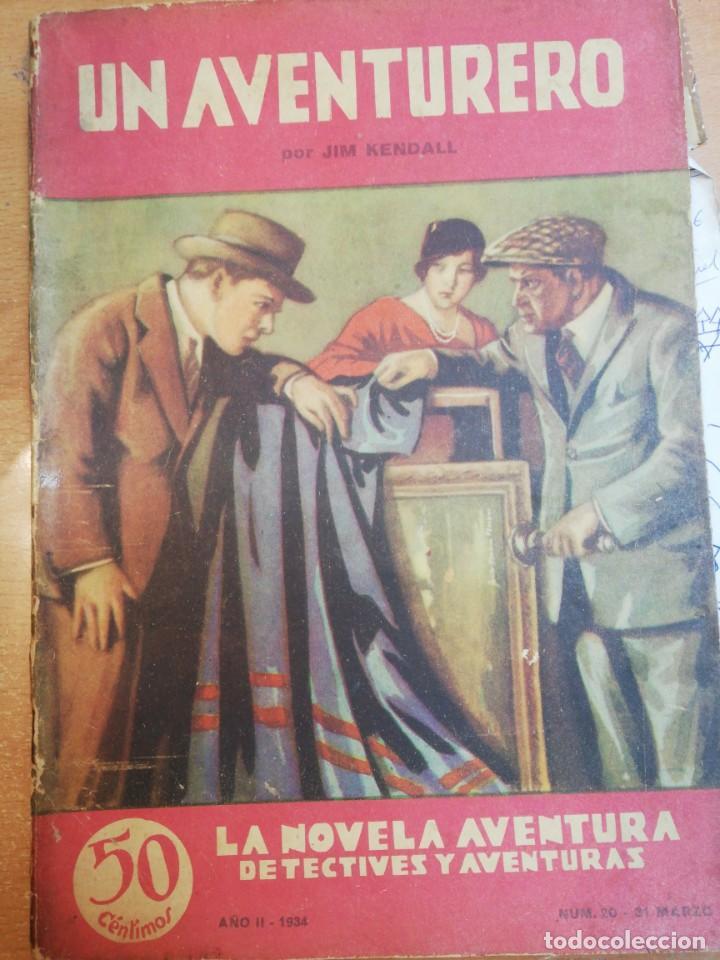 JIM KENDALL. UN AVENTURERO (Libros antiguos (hasta 1936), raros y curiosos - Literatura - Terror, Misterio y Policíaco)