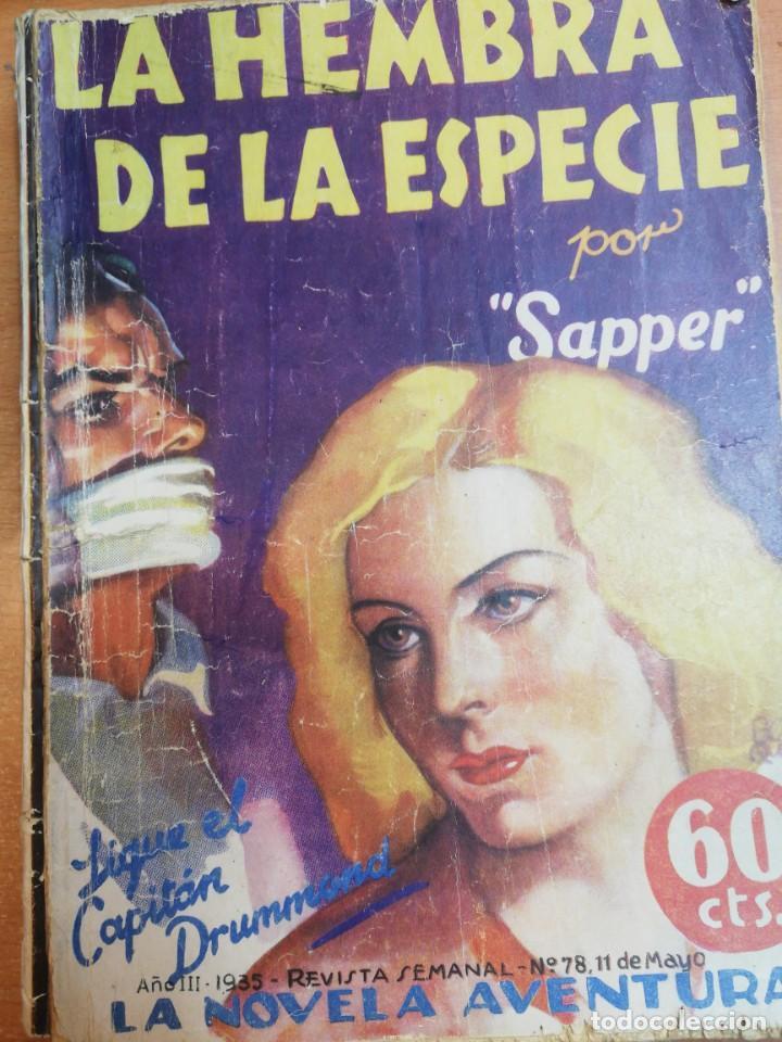 SAPPER. LA HEMBRA DE LA ESPECIE (Libros antiguos (hasta 1936), raros y curiosos - Literatura - Terror, Misterio y Policíaco)