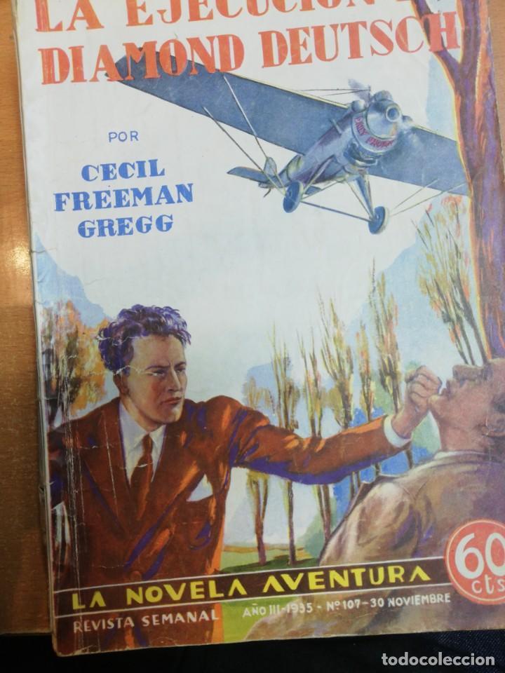 CECIL FREEMAN GREGG. LA EJECUCIÓN DE DIAMOND DEUTSCH (Libros antiguos (hasta 1936), raros y curiosos - Literatura - Terror, Misterio y Policíaco)