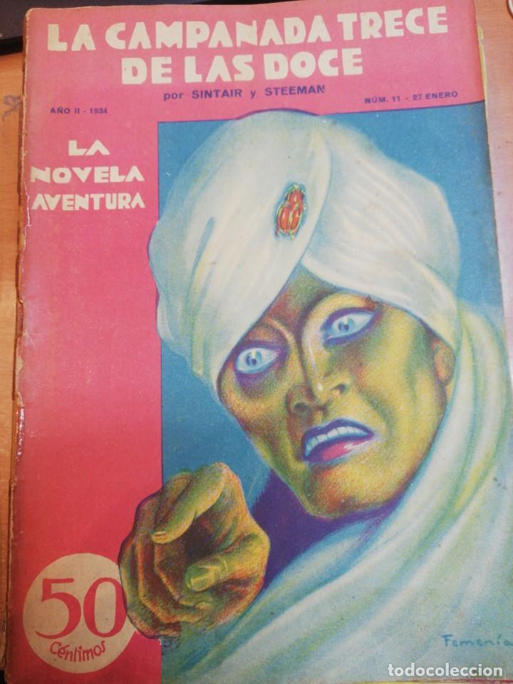 SINTAR Y STEEMAN. LA CAMPANADA TRECE DE LAS DOCE (Libros antiguos (hasta 1936), raros y curiosos - Literatura - Terror, Misterio y Policíaco)