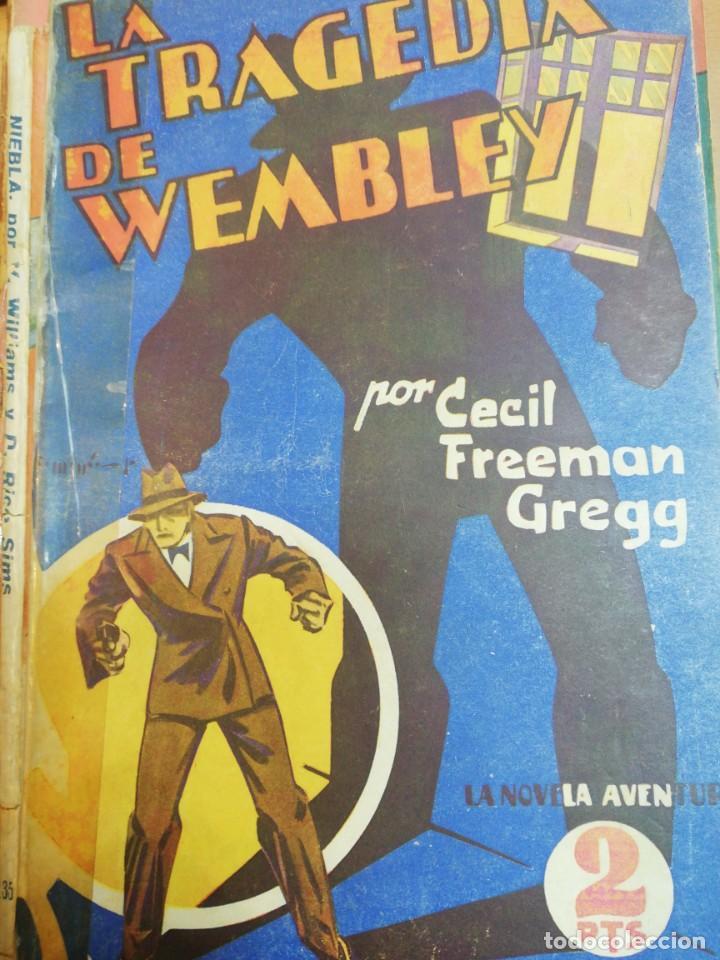 CECIL FREEMA. GEGG. LA TRAGEDIA DE WEMBLEY (Libros antiguos (hasta 1936), raros y curiosos - Literatura - Terror, Misterio y Policíaco)