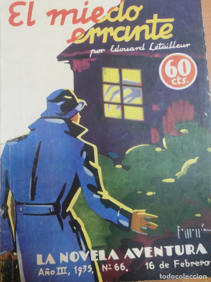 EDOUARD LETAILLEUR. EL MIEDO ERRANTE (Libros antiguos (hasta 1936), raros y curiosos - Literatura - Terror, Misterio y Policíaco)