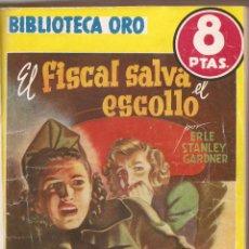 Libros antiguos: LOTE DE 6 NOVELAS B. ORO AMARILLA - AUTORES , ERLE STANLEY GARDNER ,JOSEPH VANCE , VAN DINE . Lote 190334208