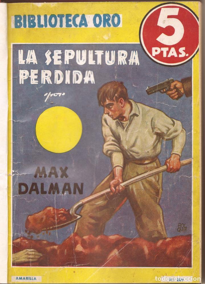 LOTE DE 6 NOVELAS B. ORO AMARILLA - - OPPENHEIM . MAX DALMAN , - LARTSINIM (Libros antiguos (hasta 1936), raros y curiosos - Literatura - Terror, Misterio y Policíaco)