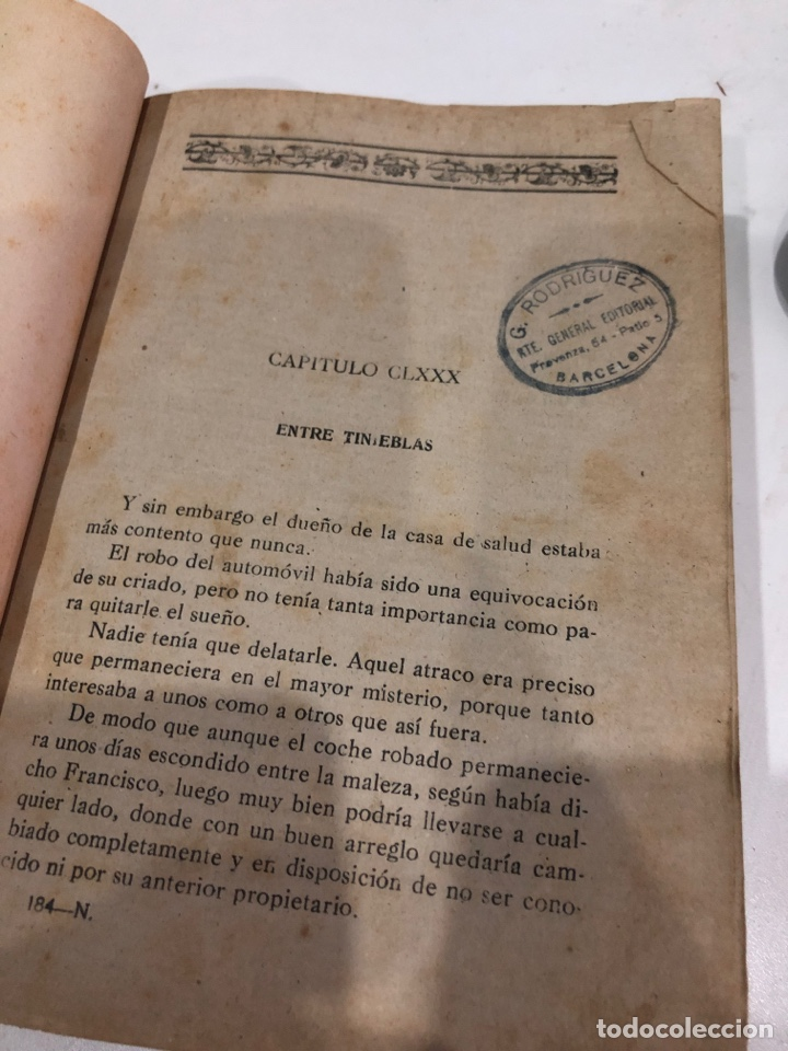 Libros antiguos: Entre tinieblas - Foto 3 - 190453527