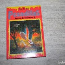 Libros antiguos: NOVELA, PESADILLAS Nº 21, SANGRE DE MONSTRUO III, EDICIONES B. Lote 190535542