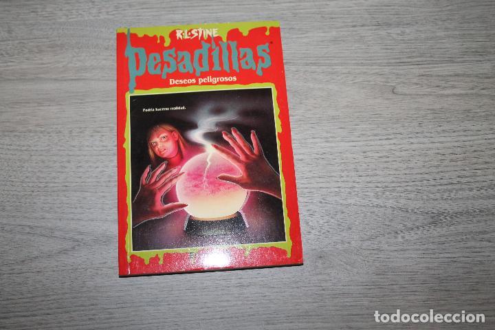 NOVELA, PESADILLAS Nº 30, DESEOS PELIGROSOS, EDICIONES B (Libros antiguos (hasta 1936), raros y curiosos - Literatura - Terror, Misterio y Policíaco)